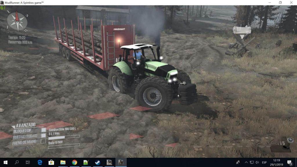 Deutz 4×4 Tractor 2