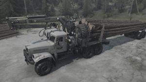 Kraz-255B Truck 2