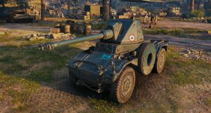Classic's Panhard Amd 178B Turret/Gun Swap (Simple Remodel) [1.4.0.0] for World of Tanks