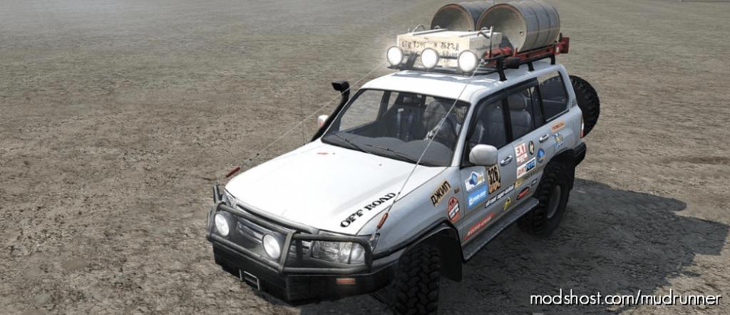 Toyota Landcruiser 100 Trophy Pack 2