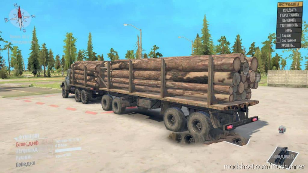 Zil 4334 Truck V3 2