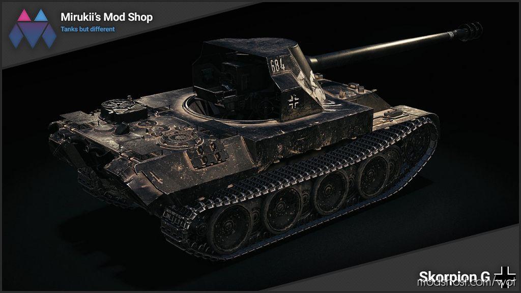 Mirukii's Skorpion G Black Remodel [1.6.0.0] for World of Tanks