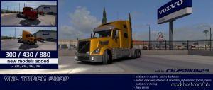 Volvo Vnl Truck Shop V1.4+ Ats 1.35 1