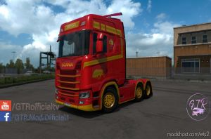 Skin Spain For Scania S Next Gen V1.1 2
