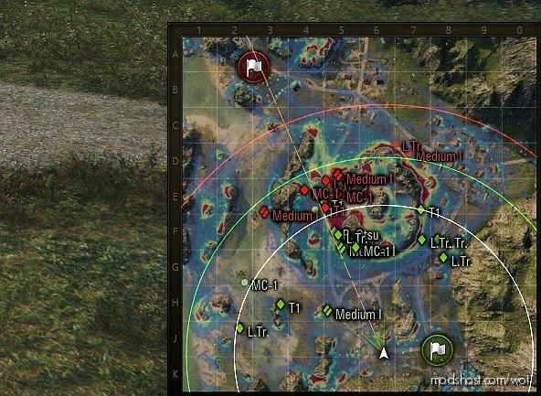 [9.22.0.1] Hd Minimap for World of Tanks
