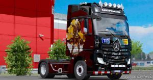 Darphntoum Skin For Benz 2014 Ets2 1.35 1