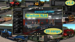 Ownable Overweight Trailer Wielton NJ4 V1.7.1 1