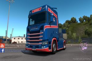 Skin Serbia For Scania S Next Gen V1.1 2