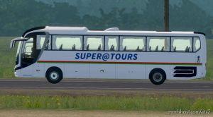 Skin Supratours – Man Lion Coach – ETS2 1.35.X 1
