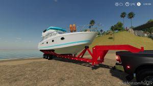Oversize Boat Trailer 1