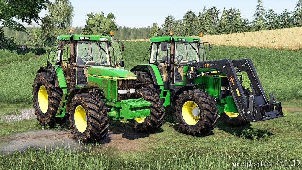 John Deere 7610/7710/7810 Serie V2.0 for Farming Simulator 2019