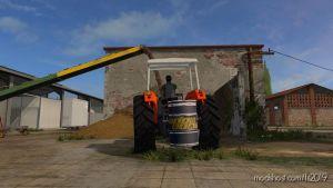 Fiat Oil Barrel (550 KG) for Farming Simulator 2019