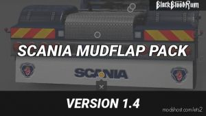 Scania Mudflap Pack V1.4.1 1.35.X 3