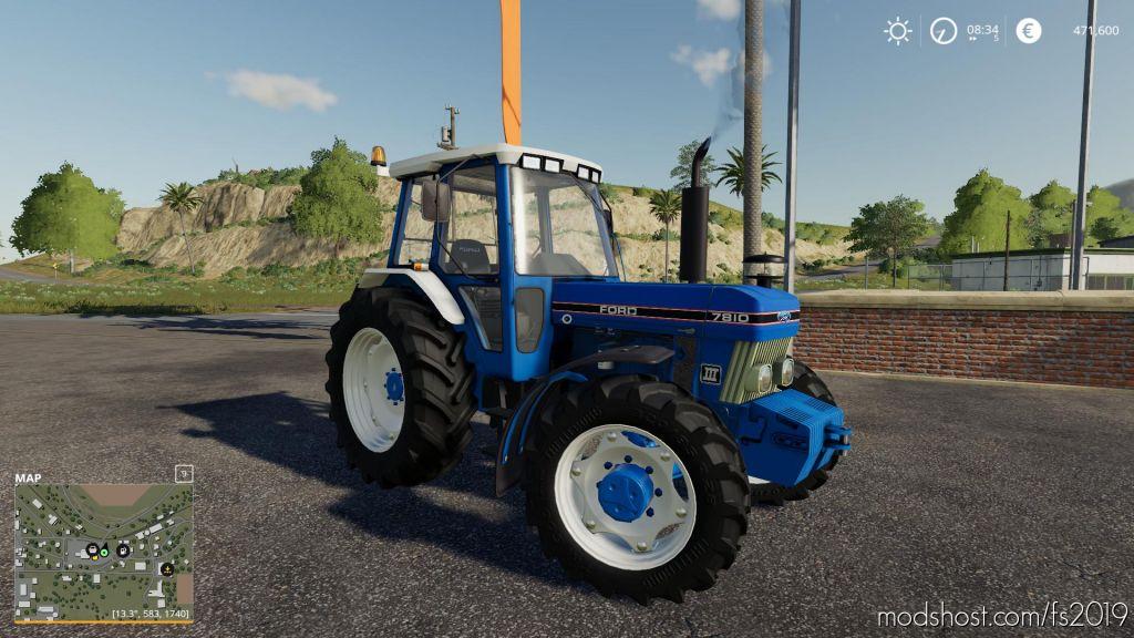 Ford 7810 V1.1 for Farming Simulator 2019