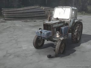 MTZ-80 Tractor 2