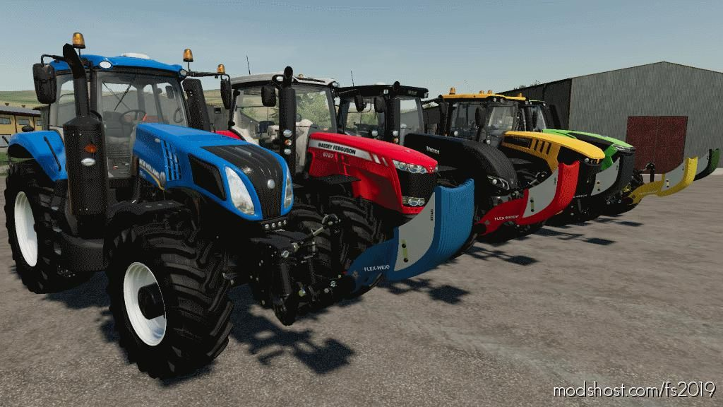 Wittrock Flex-Weight S/M + M/L for Farming Simulator 2019