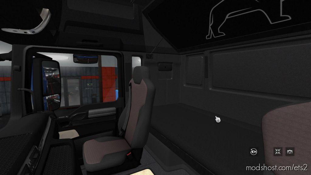 Changes In The Interior Man TGX Euro 6 Blue 1.35.X 2