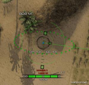 [0.9.20] Taipan Arty Crosshair for World of Tanks