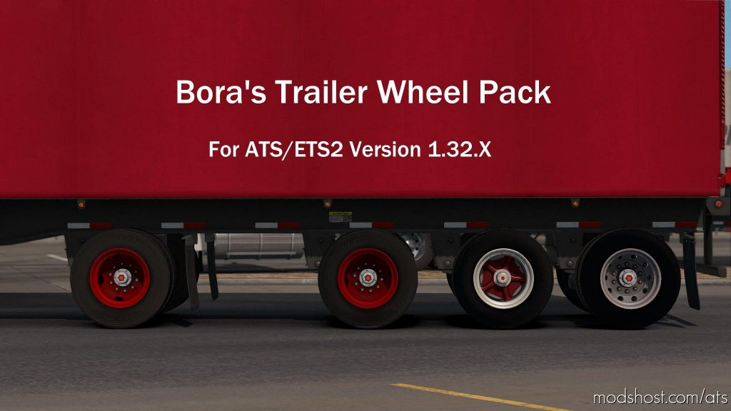 Bora's Trailer Wheel Pack [1.32B+] for American Truck Simulator