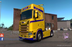 Skin Bosnia For Scania S Next Gen V1.1 2