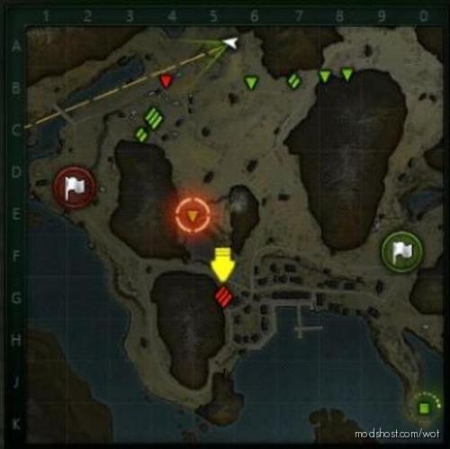 [9.22.0.1] Hawg's Minimap for World of Tanks