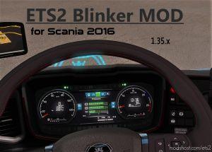 Realistic Indicator (Blinker) Mod Ets2 1.35 V1.1 1