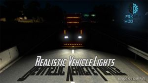 Realistic Vehicle Lights V4.1 [1.34.X] for American Truck Simulator