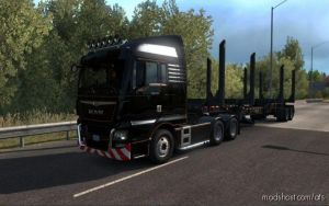 Man Tgx Euro 6 (Sound) V15.02.19 for American Truck Simulator