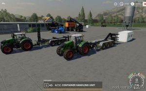 Atc Container Handling Pack V1.3 for Farming Simulator 2019