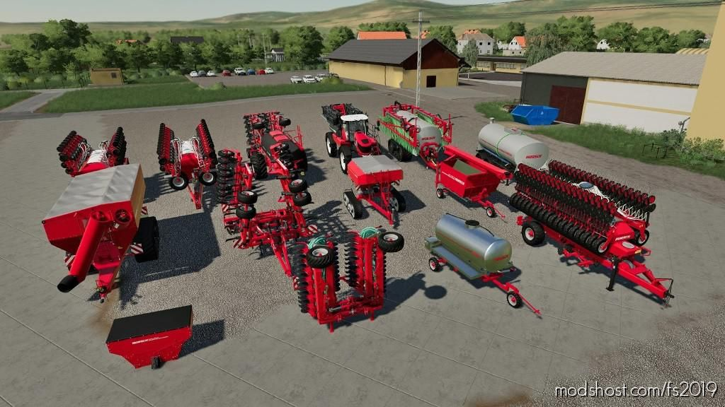 Horsch Pack V1.0.1 for Farming Simulator 2019