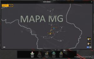 Profile Map Minas Gerais By Souza YT V1.2 for Euro Truck Simulator 2