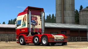 Loud Engine Sounds For Scania V8: R & Streamline 1.35.X for Euro Truck Simulator 2
