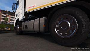 Chrome Caps For Wheels V1.0.1 1.35.X for Euro Truck Simulator 2