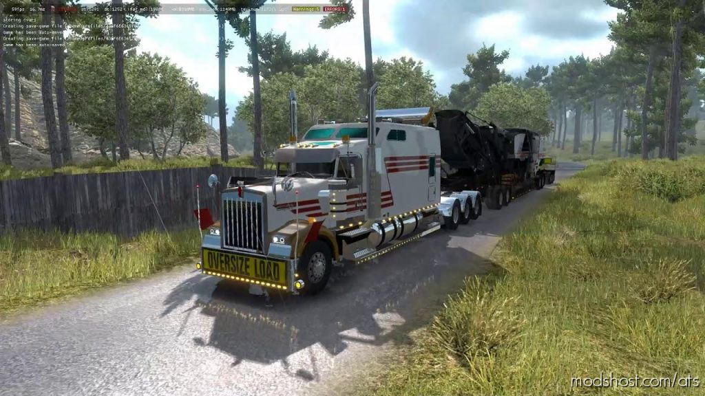 Kenworth W900B Long for American Truck Simulator