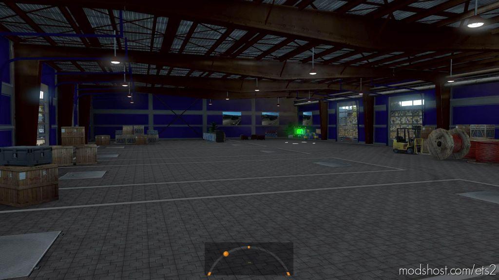 Csad Garage Skin for Euro Truck Simulator 2