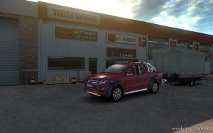 Volkswagen Amarok V1.1 for American Truck Simulator