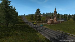Map Of Russia Rusmap V 1.9.0 Fix 1.35.X for Euro Truck Simulator 2