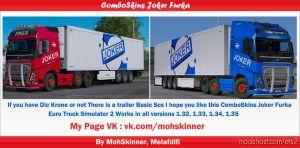 Comboskins Joker Furka – Ets2 1.35 for Euro Truck Simulator 2
