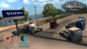 Volvo Trucks Mod V4.0 for American Truck Simulator