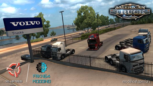 Volvo Trucks Mod V4.0 for American Truck Simulator