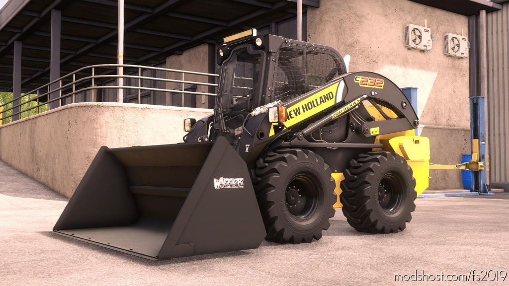 New Holland L234 Skidsteer for Farming Simulator 2019