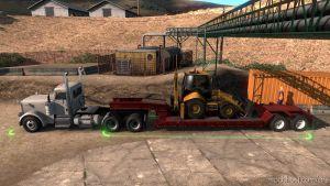 Low Boy Semi-Trailer In Ownership [1.35.X] for American Truck Simulator