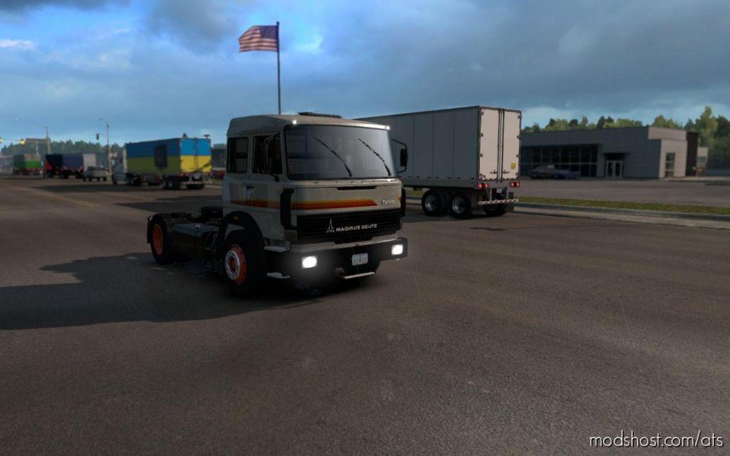 Magirus Deutz M360 [1.33-1.34] for American Truck Simulator