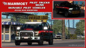 Skinable Pilot Vehicles (Mammoet) [1.34.X] for American Truck Simulator