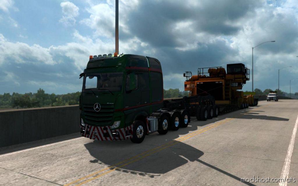 Mercedes Big Stars (Actros/Arocs Slt) [1.32.X] for American Truck Simulator