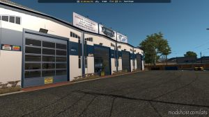 Uncle D Logistics Vtc Garage Skin [1.33.X] for American Truck Simulator