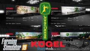 John Deere Kogel Pack Trailers By Crowercz 1