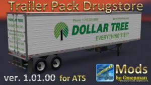 Trailer Pack Drugstore V1.01.00 for American Truck Simulator