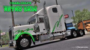 Freightliner Classic Xl Retro Skin for American Truck Simulator