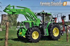 John Deere 7430/7530 Premium for Farming Simulator 2019